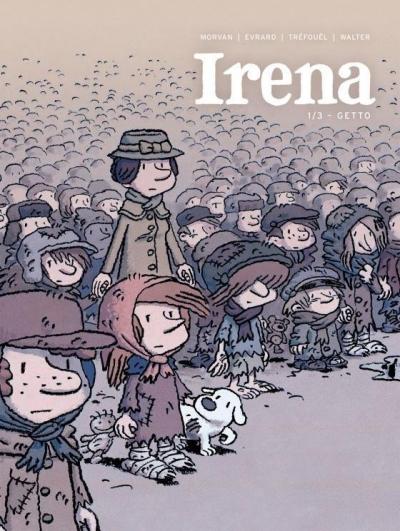 Irena T.I Getto (Uszkodzona okładka) David Evrard, Jean-David Morvan, Severine Trefouel