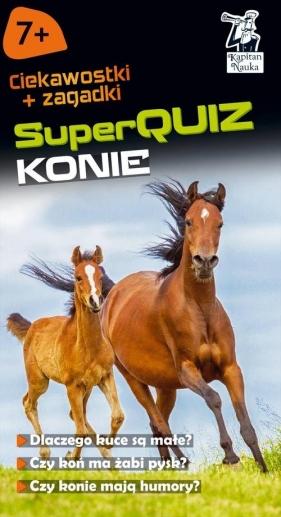 Kapitan Nauka SuperQuiz Konie Domino Małgorzata