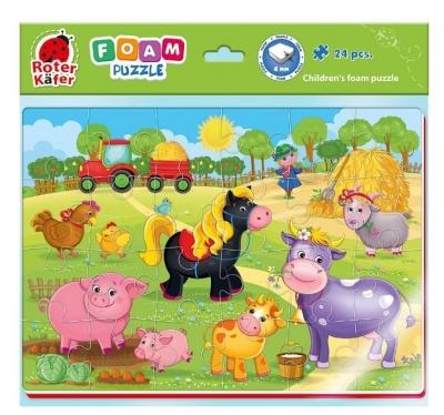 Piankowe puzzle 24: Farma (RK6020-05)