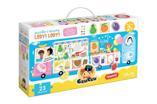 CzuCzu: Puzzle z dziurką - Lody! Lody!