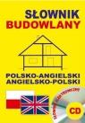 Słownik budowlany polsko-angielski angielsko-polski + CD Gordon Jacek