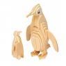 Łamigłówka drewniana Gepetto - Pingwin Wike: 6+