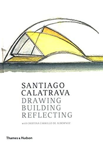 Santiago Calatrava Drawing, Building, Reflecting Carillo de Albornoz Cristina, Calatrava Santiago