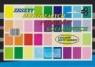 Zeszyty papierów kolorowych błyszczących A5 Protos