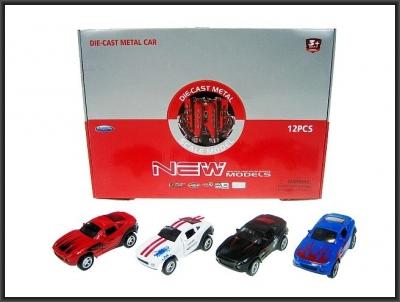 Samochód Hipo wyścigowy 12 cm światło i dźwięk (HXFY068)