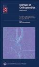 Manual of Orthopaedics M Swiontkowski