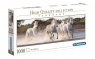 Puzzle High Quality Collection 1000: Panorama - Running Horses (39441)