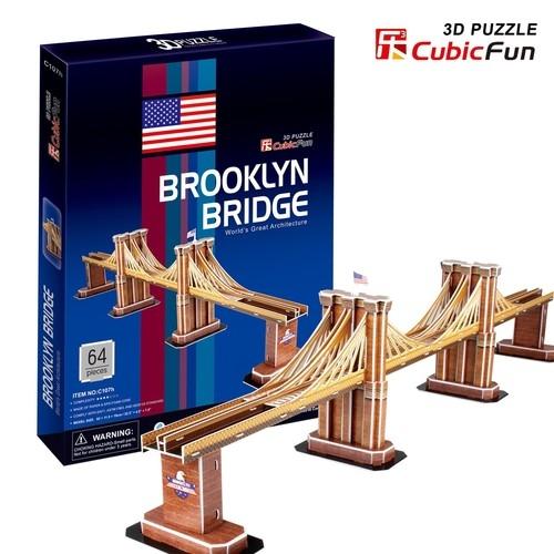 Puzzle 3D Empire Brooklyn Bridge  (C107H)
