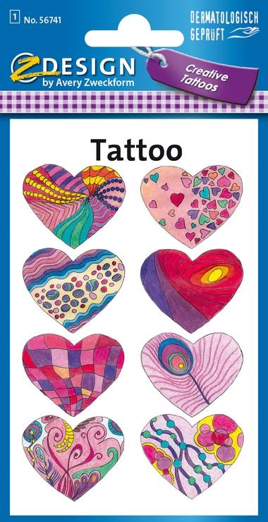 Tatuaże - Serca (56741)