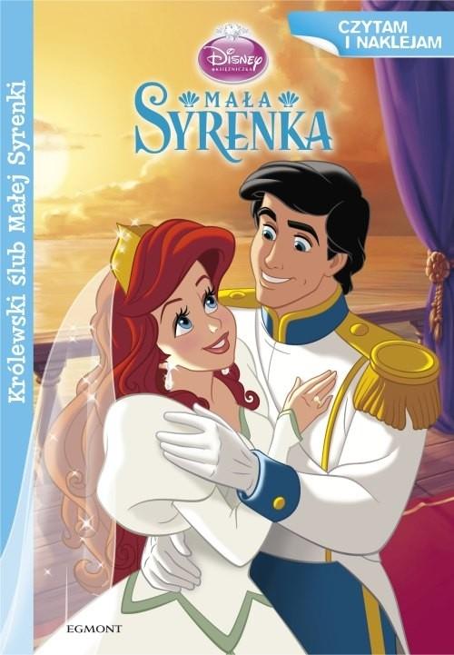 Czytam i naklejam Królewski ślub Arielki