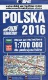 Polska 2016 Mapa samochodowa dla profesjonalistów 1:700 000
