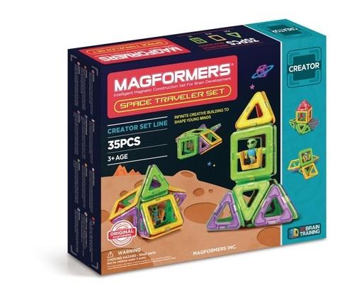 Klocki Magformers Space Traveler Set 35