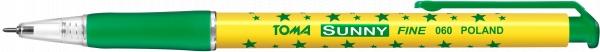 Długopis automatyczny w gwiazdki Sunny (TO-060 42)