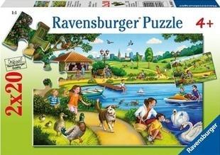 Puzzle 2X20 Zabawa w parku (090419) RAP090419