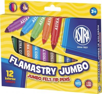 Flamastry Jumbo Astra, 12 kolorów (314110001)