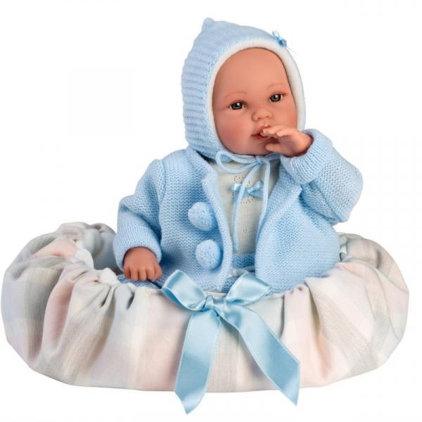 Lalka Bobas z nosidełkiem 36 cm (63641)