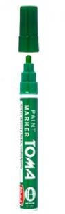 Marker olejny 2.5 mm - zielony TO-44042