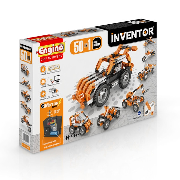 ENGINO Inventor 50 models motorized set (5030)