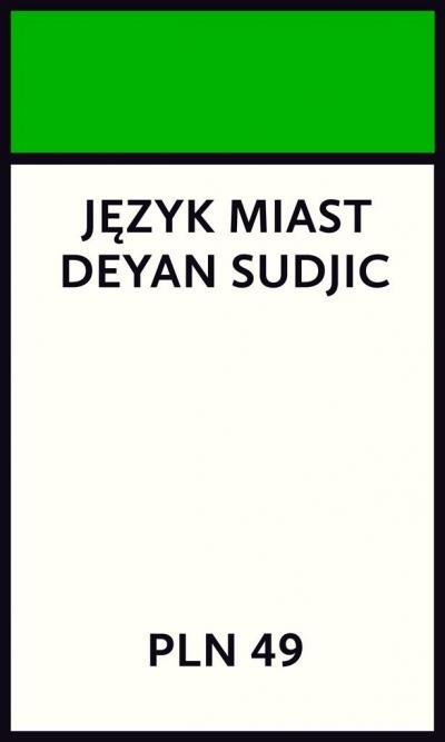 Język miast Sudjic Deyan