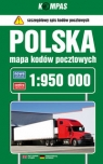 Polska Mapa kodów pocztowych 1:950 000