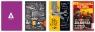 Brulion tematyczny w kratkę - Historia A5, 80 kartekmix