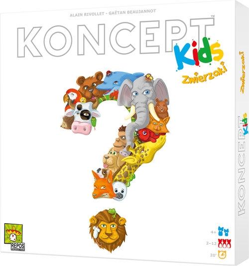 Koncept Kids Zwierzaki Gaëtan Beaujannot, Alain Rivollet