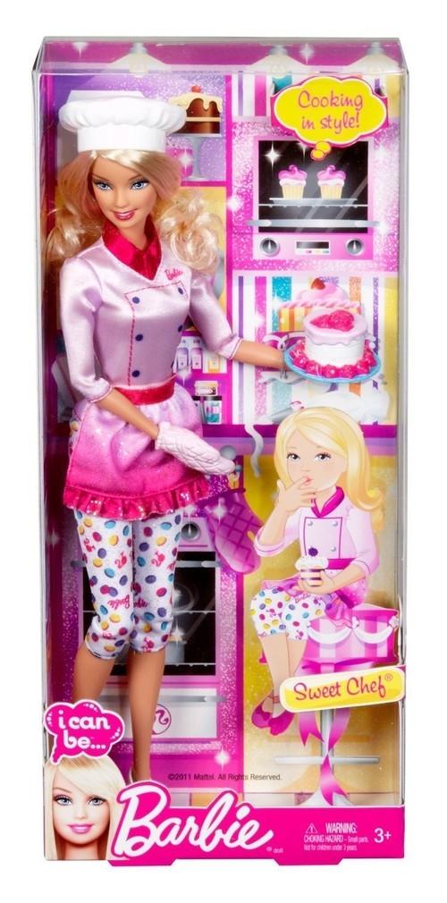 Barbie Bądź kim chcesz - Kucharka