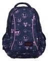 Plecak 3-komorowy BP26 emoji® pink