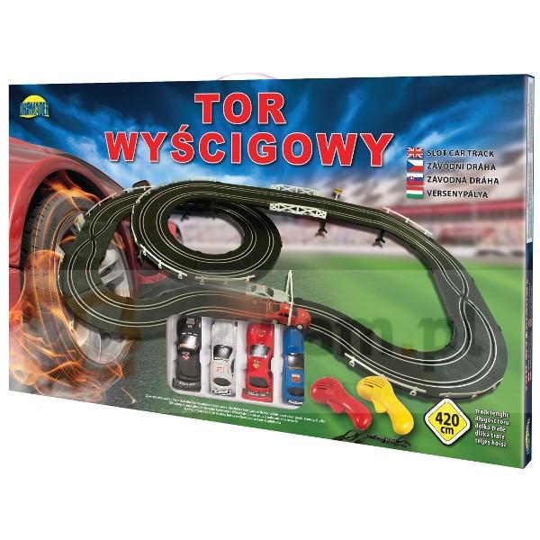 DROMADER Tor wyścigowy 420 cm (00741)