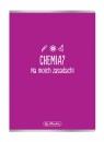 Zeszyt A5/60k kratka Chemia
