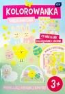 Kolorowanka Wielkanocna A4 z naklejkami+wycinanki