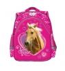Plecak szkolno-wycieczkowy Ma Belle Cheval różowy