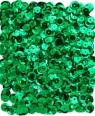 Cekiny metalizowane 9 mm, 15 g - zielone ciemne (DPCE-064)