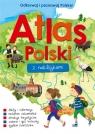 Atlas Polski z naklejkami praca zbiorowa