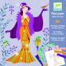 Zestaw artystyczny papier plisowany Suknie Art Deco (DJ09442)