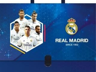 Teczka z rączką A4, Real Madrid