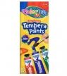 Farby Tempera w tubach z pędzelkiem 12 kolorów (68420PTR)