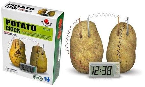 Zegar z ziemniaka