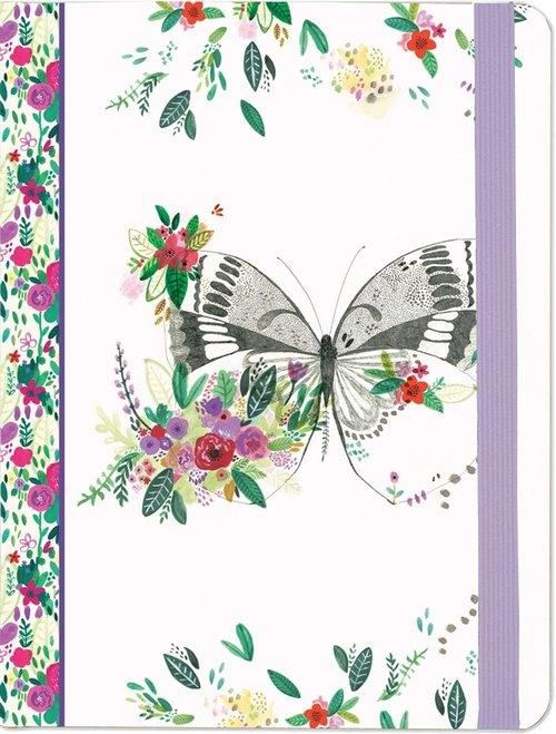 Notatnik Midi Polny motyl