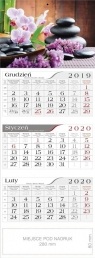 Kalendarz 2020 Trójdzielny Zen CRUX