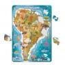 Puzzle ramkowe 53: Ameryka Południowa (DOPR300178)