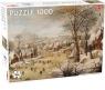 Puzzle 1000: Winter Landscape w Skaters (56242)