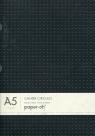 Notatnik A5 Paper-oh Cahier Circulo Black on Grey / Grey on Black w linie