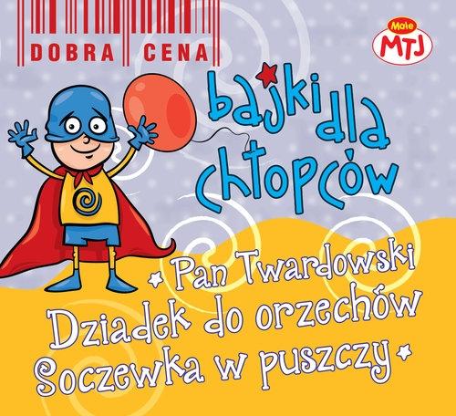 Bajki dla chłopców Pan Twardowski Dziadek do orzechów Soczewka w puszczy 3CD  (Audiobook) (CDMTJ90342)