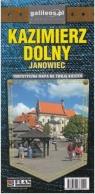 Kazimierz Dolny – mapa kieszonkowa laminowana