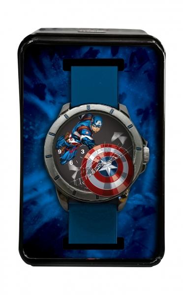 Zegarek analogowy  w metalowym opakowaniu - Avengers (MV15785)