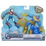 Avengers Bend and Flex Iron Patriot i Thanos
