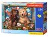 Puzzle 300: Stowaway Pups (B-30422)Wiek: 8+