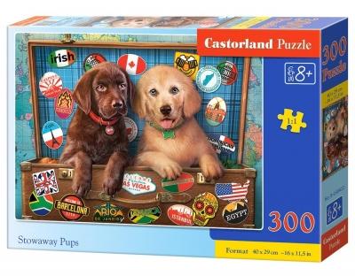 Puzzle 300: Stowaway Pups (B-30422)
