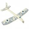 Model samolotu do składania niebieski (711042)